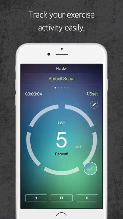HBFS : Harder Better Faster Stronger is a fitness tracker for your body strength