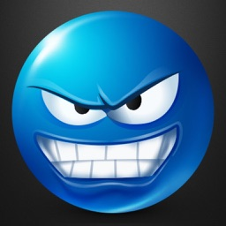 Blue Text Smileys Keyboard - 3D Emojis & Extra Emojis by Emoji World