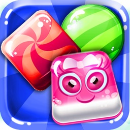 ``` A Candy Fable ``` - puzzle match-3 jam in juice fruit land free