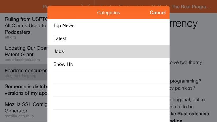 Pivit - Hacker News screenshot-4