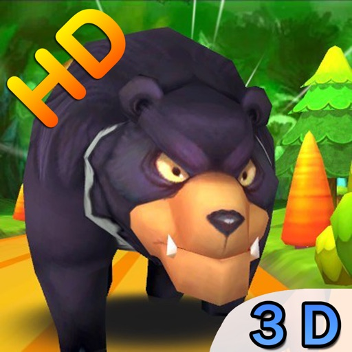 Mega Pig Run Bear Forest HD Free