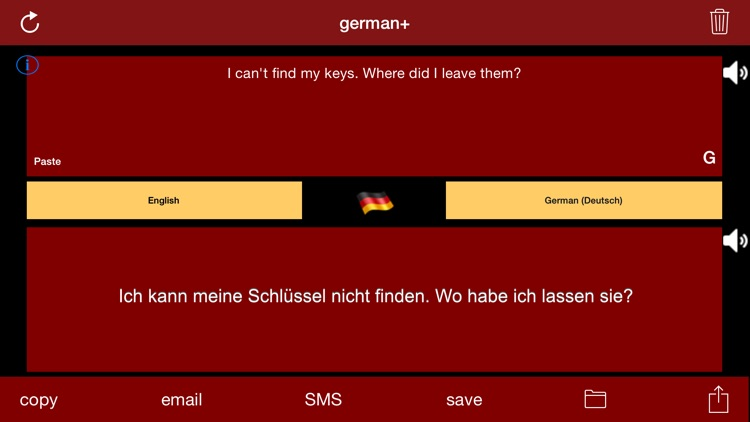 german+: German & English Translator and Translation Engine screenshot-0