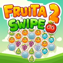 Fruita Swipe 2 - Rescue the Food: Funny Match 3 Puzzle Game App