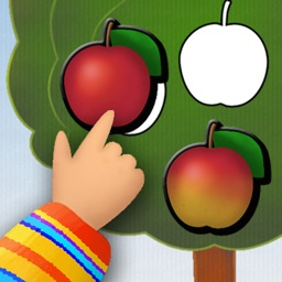 Animated Garden Shape Puzzles for Toddlers