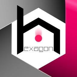 The Amazing Hexagon - Super hard & fast Reflex Eye Coordination Game