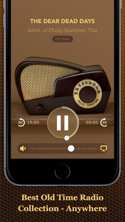 Vintage Radio Lite screenshot-2