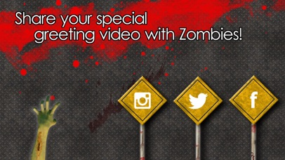 ZombieMe - Video Greeting from Zombies! screenshot four