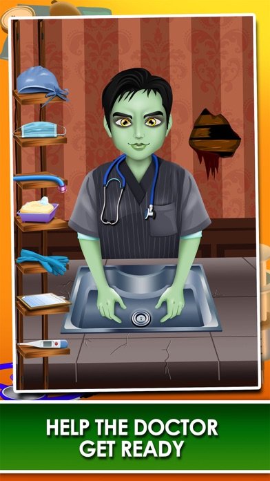 download Monster Mommy's Newborn Baby Doctor - my new girl salon & pregnancy make-up games for kids 2 apps 4