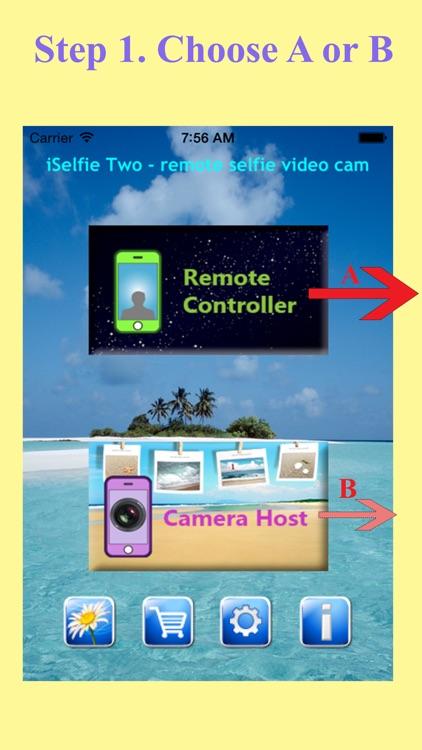 iSelfie Two - remote selfie video cam