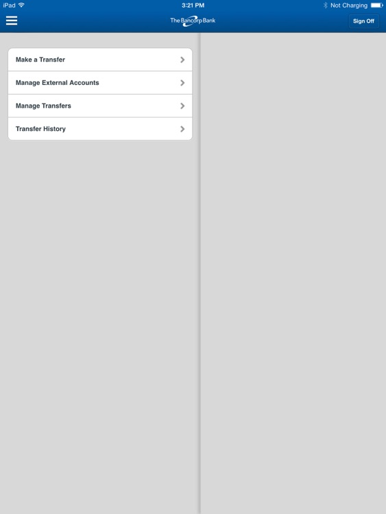 The Bancorp Mobile for iPad screenshot-4