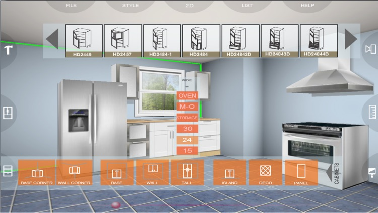 Kitchen 3D eurostyle screenshot-3