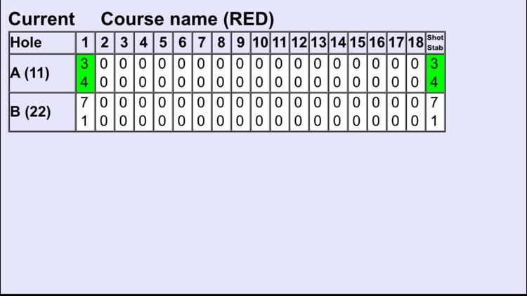 Golf Scores Counter screenshot-4