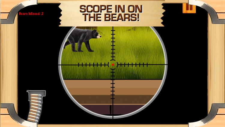 Awesome Bear Hunter Shooting Game With Cool Sniper Hunting Games For Boys FREE screenshot-3