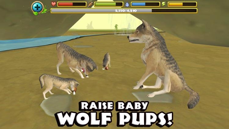 Wildlife Simulator: Wolf screenshot-3