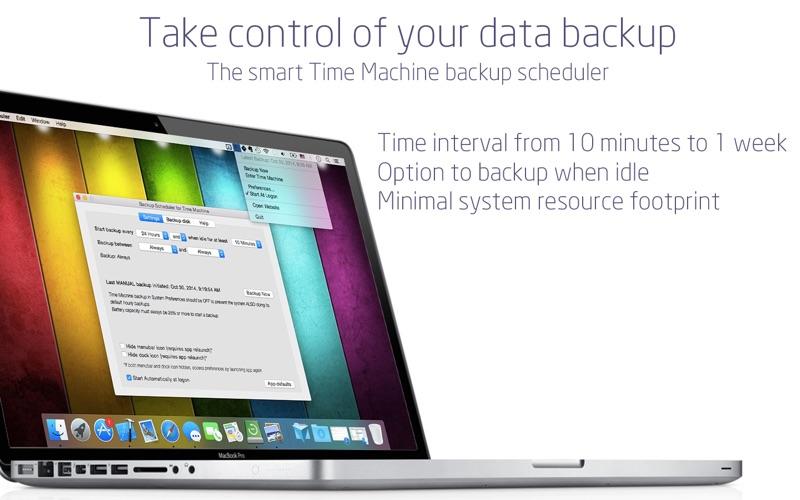 Backup Scheduler: Time Editor på PC