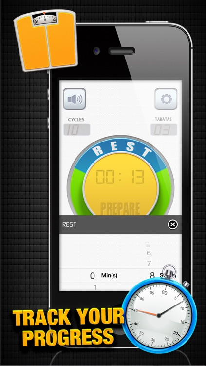 Tabata Timer X² - interval HIIT trainer FREE