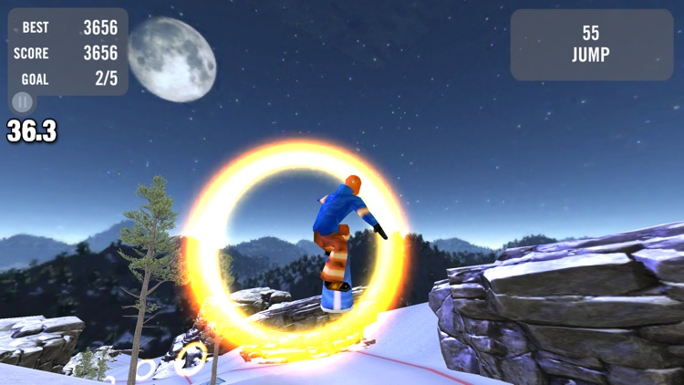 Crazy Snowboard Free screenshot-4