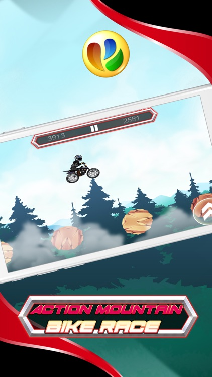 Action Mountain Bike Racing Game