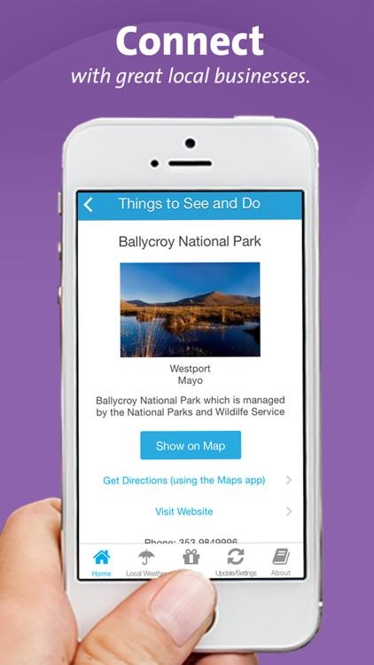 Westport App  - Mayo- Local Business & Travel Guide screenshot-3