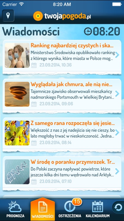 TwojaPogoda Free screenshot-3