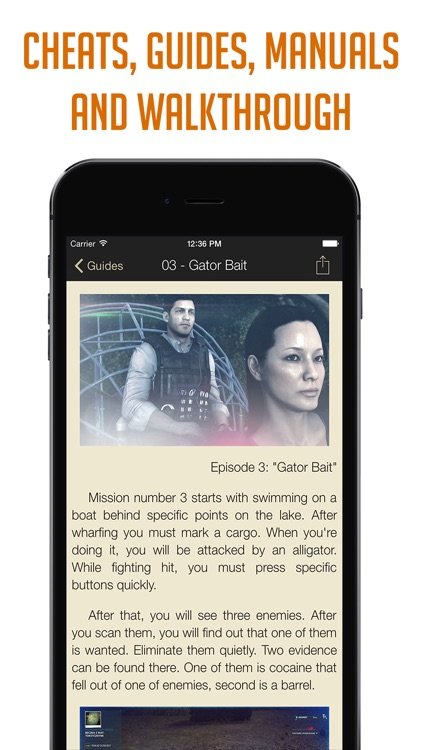 Pocket Wiki for Battlefield Hardline (Lite version) screenshot-1