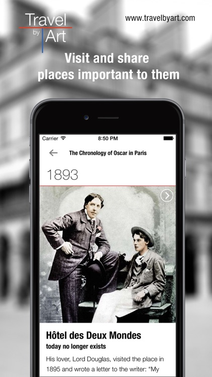 TravelbyArt - Discover the Paris of Famous Artists screenshot-3