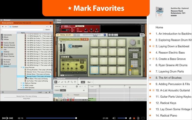 Backline Rig Explored - Reason скриншот программы 3