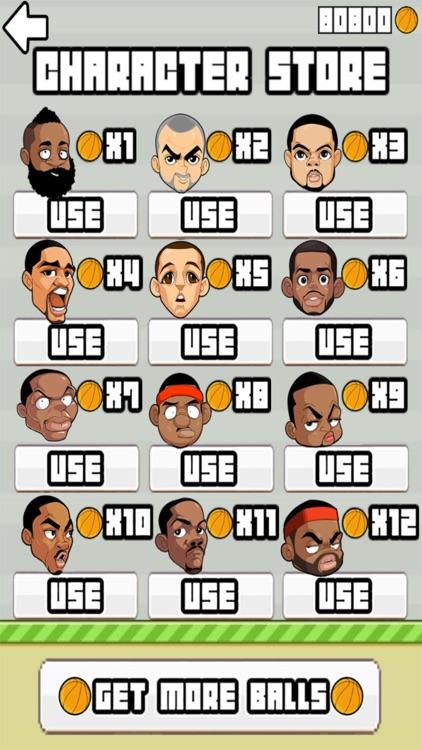 Flappy Ballers - Endless Jumping Basketball Player screenshot-3