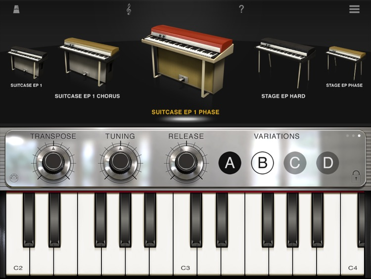 iLectric Piano for iPad screenshot-0