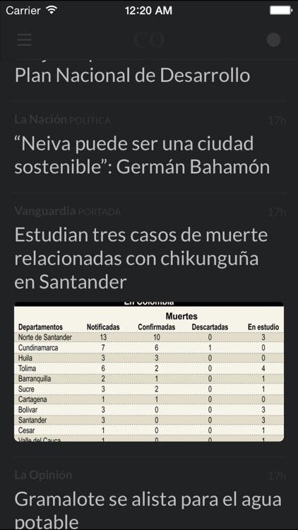 Periódicos CO - Los mejores diarios y noticias de la prensa en Colombia screenshot-4