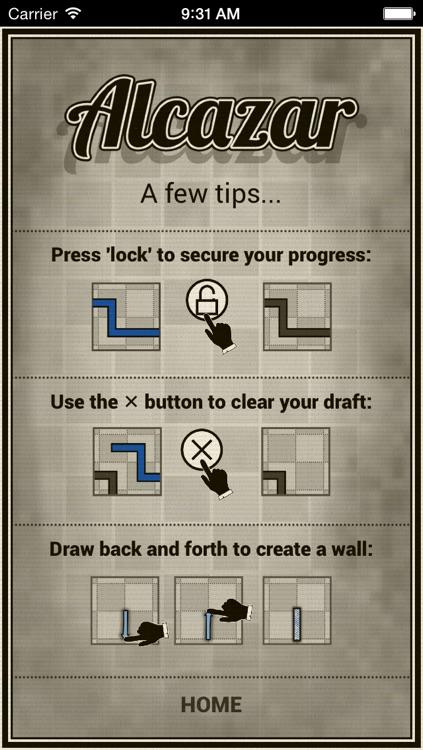 Alcazar Puzzle screenshot-4