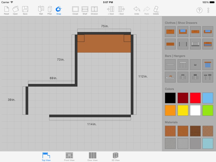 Sketch Arm - 3D Closet Designer screenshot-3