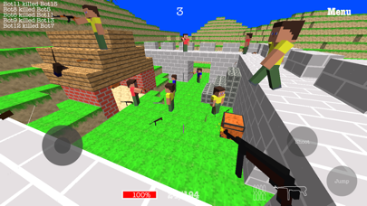 Screenshot from CraftedBattle