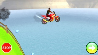 Bike Stunt Man Crazy Heights screenshot two
