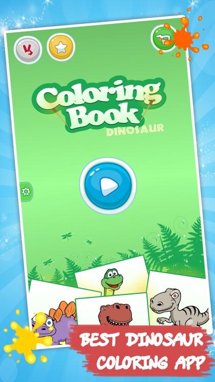Best coloring book : Dinosaurs screenshot-4