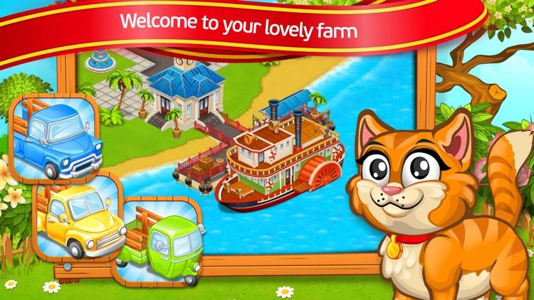 Farm Town: villa for friends screenshot-4