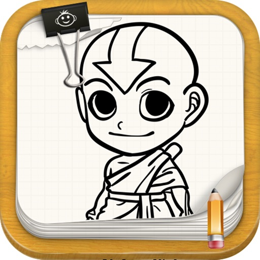 Learn To Draw Avatar Aang Edition