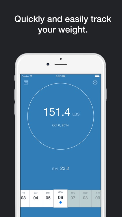 Pocket Scale - Quick Weight Tracker screenshot-0