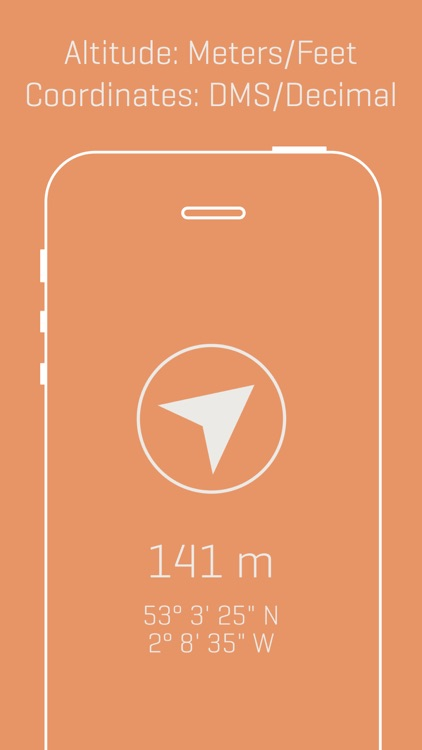 Alti - Minimalist Travel Altimeter & Compass screenshot-3