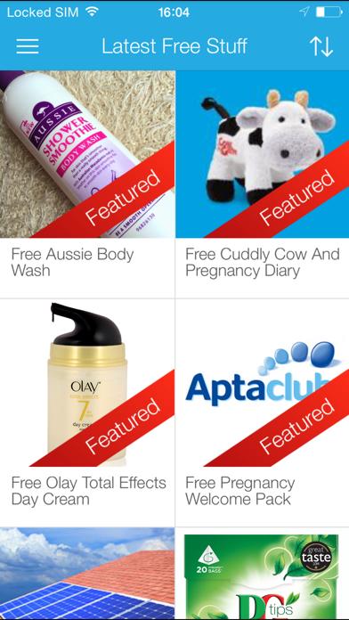 Latest Free Stuff - Freebies and Free Samples screenshot one