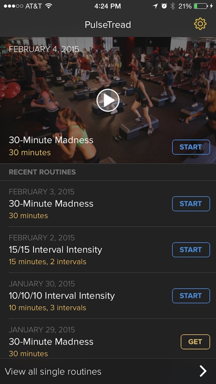 PulseTread - A New 30-Minute Cardio Routine Each Day