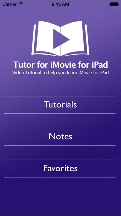 Tutor for iMovie for iPad screenshot-0
