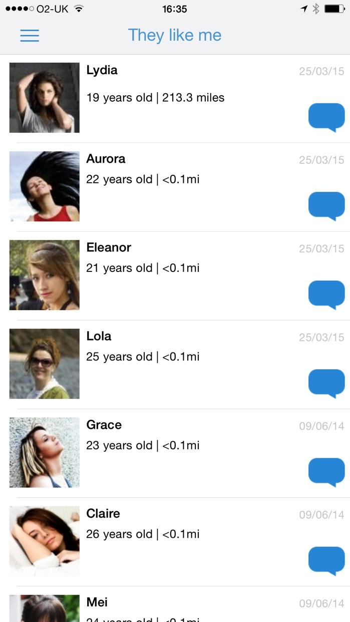 Meet-me: Chat, flirt and date Screenshot