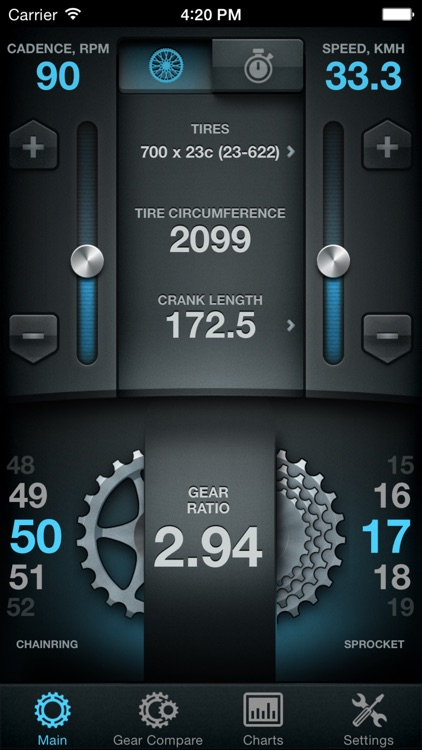 Bike Gear Calculator - Bike Gears, Cycling Gear Calculator, Bicycle Gear Calculator