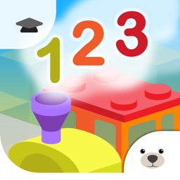 Number Train Early Learning: School Edition - Kindergarten maths games for Grade 1, KS1, writing, addition, 123, count