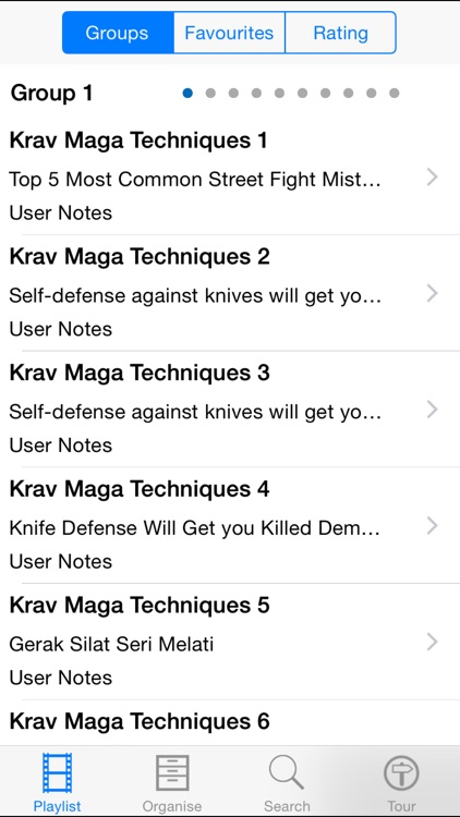 Krav Maga Techniques screenshot-1