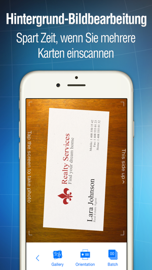 Business Card Reader Im App Store