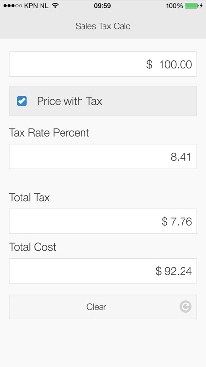 Sales Tax Calculator App screenshot-3