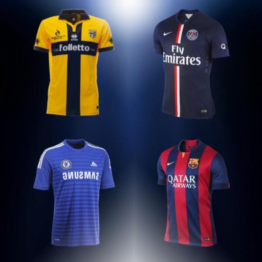 Футбол Викторина 2015 - Угадай форму футбольного клуба !