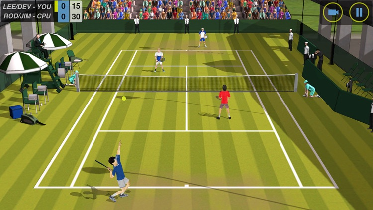 Flick Tennis screenshot-0